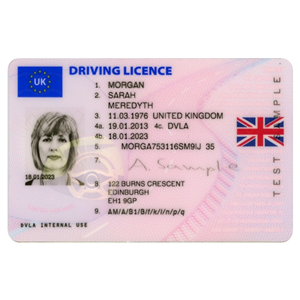 Driving Licence Front